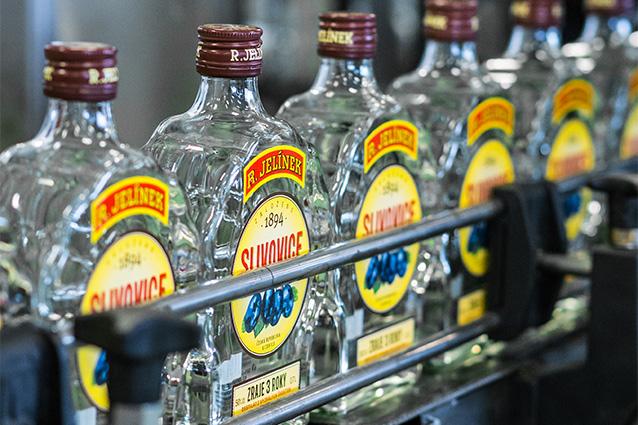 The bottling line